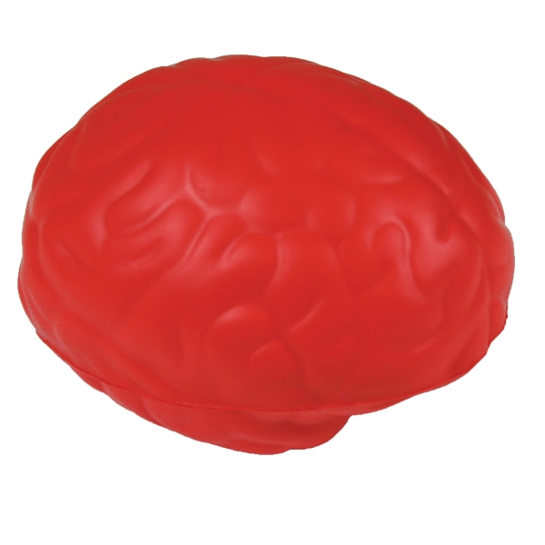 Squeezies (r) - Red - Brain Shape Stress Reliever Photo