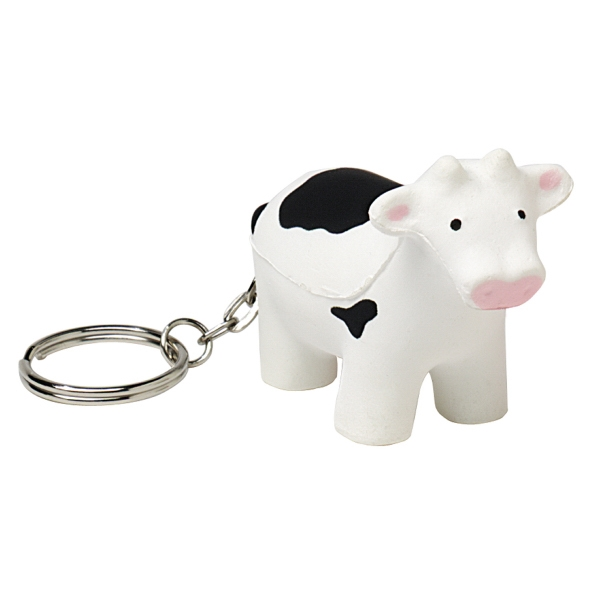 Squeezies (r) - Cow Shape Stress Reliever With Key Holder Photo