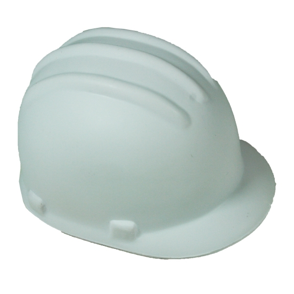 Squeezies (r) - White - Hard Hat Shape Stress Reliever Photo