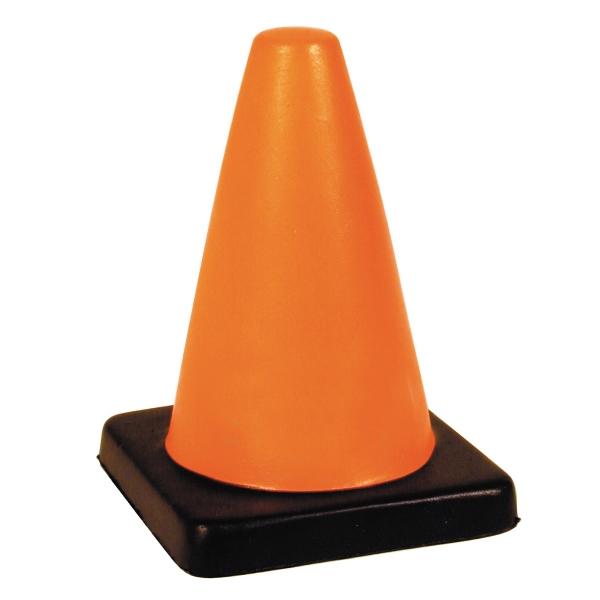 Squeezies (r) - Traffic Cone Shape Stress Reliever Photo