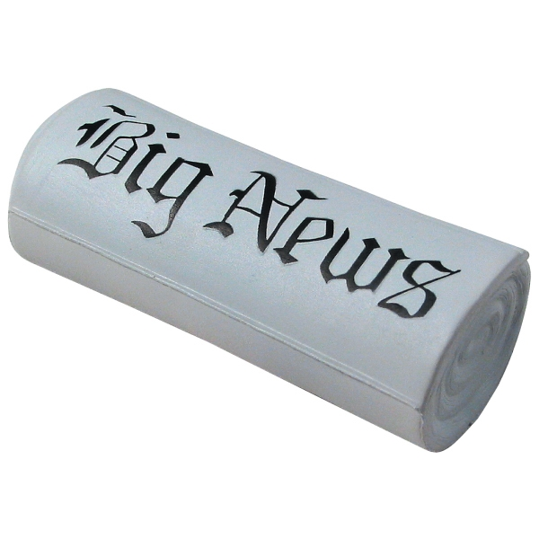 Squeezies (R) Newspaper Stress Reliever