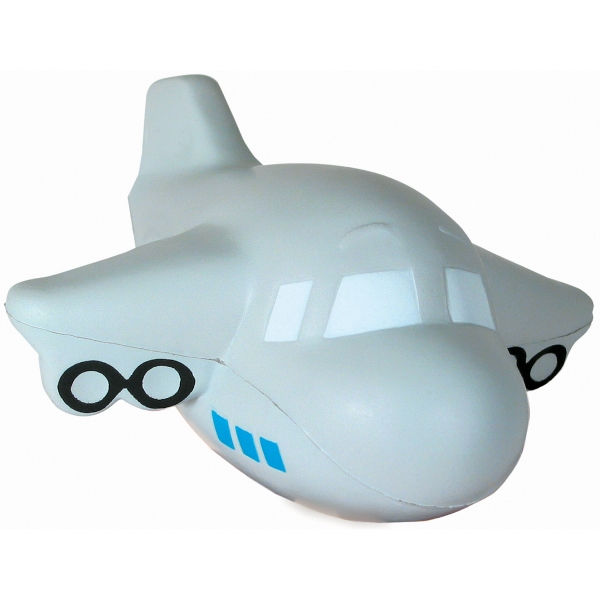Squeezies (r) - Airplane Shape Stress Reliever With Sound Photo
