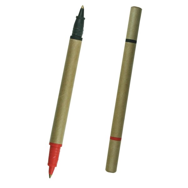 Eco-friendly Two Colored Biodegradable Pen Photo