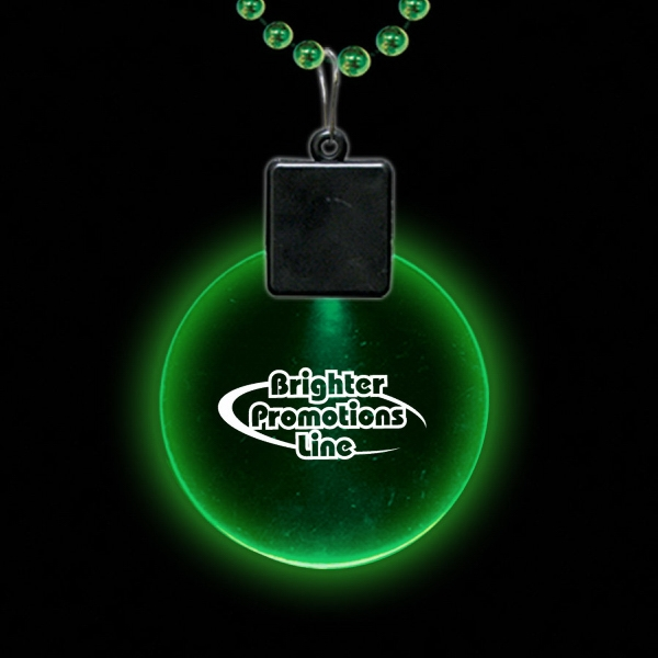 "Jade Green 2 1/2"" Light-up Medallion Photo"