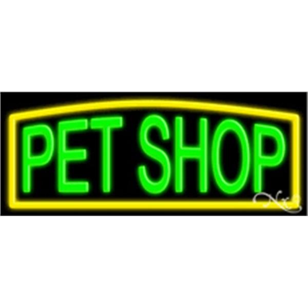 "Neon Display Sign Outdoor Indoor for Business Office Store - Neon sign, 13""x 32""x 3""."