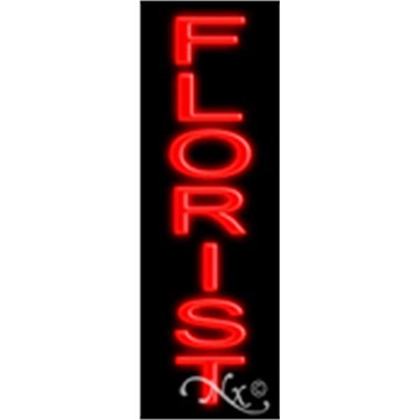 "Neon Display Sign Outdoor Indoor for Business Office Store - Economic neon sign, 24"" x 8"" x 3""."
