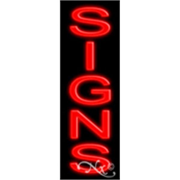 """Economic Neon Sign - Economic neon sign, 24"""" x 8"""" x 3""""."""