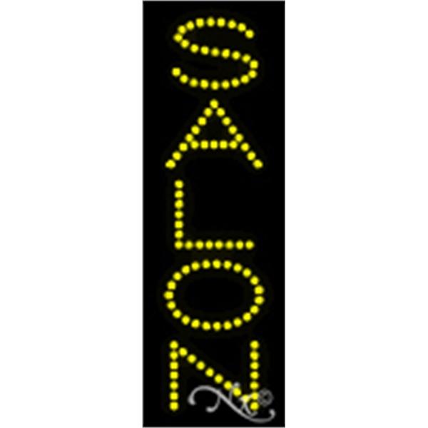 "Economic LED Sign - Economic LED sign, 21"" x 7"" x 1""."