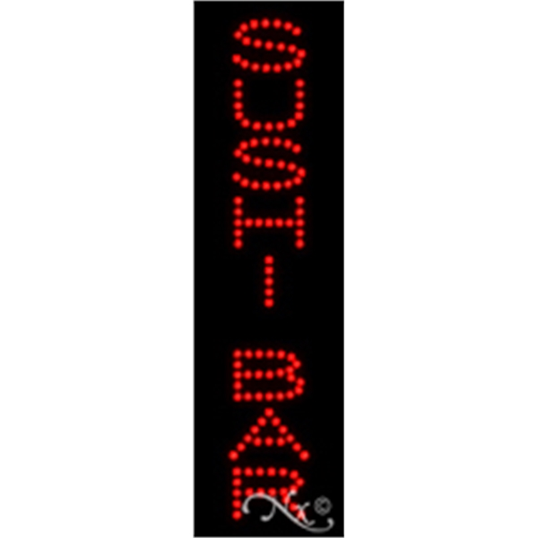 "LED Display Sign Outdoor Indoor for Business Office or Store - Economic LED sign, 25"" x 7"" x 1""."