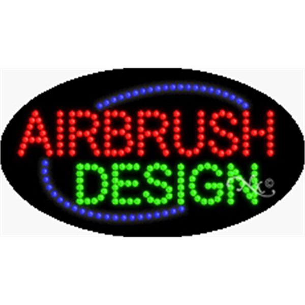 """Animation & Flashing LED Sign - Animation and flashing LED sign, 15"""" x 27"""" x 1""""."""