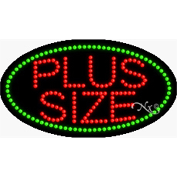 """Animation Fashing LED Sign for Business Office or Store - Animation and flashing LED sign, 15"""" x 27"""" x 1""""."""