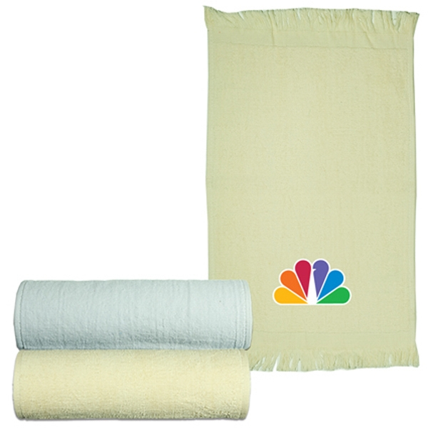 Logotec - Natural And White - Velour Sport Towel Photo