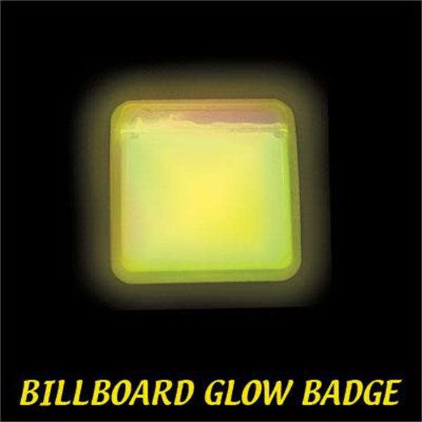 Billboard Light Up Glow Name Badge