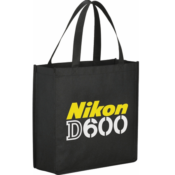 "The Main Street - Tote, Large Open Main Compartment With Double 18"" Handles; Reusable And Recyclable Photo"