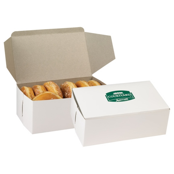 "No Imprint - Chipboard Donut Box, 10 1/2"" X 6"" X 3 3/4"" Photo"