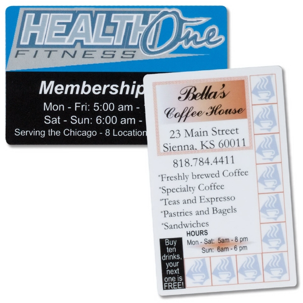 Standard Laminated Membership Card Photo