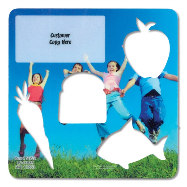 Children's Healthy Eating Stencil Photo