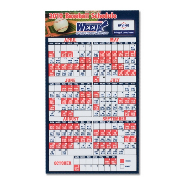 "Calendar Magnet 2 7/8""  X  5"", .025 Material Thickness Photo"