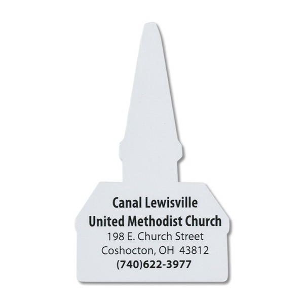 Church Shape Magnet. .025 Material Thickness Photo