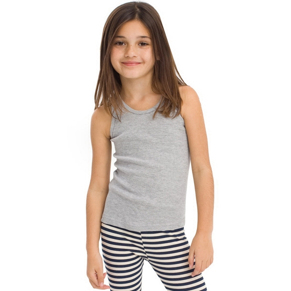 Colors - Kids Rib Tank. Blank Photo
