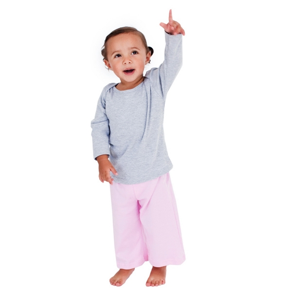 Colors - Infant Baby Rib Karate Pant. Blank Photo