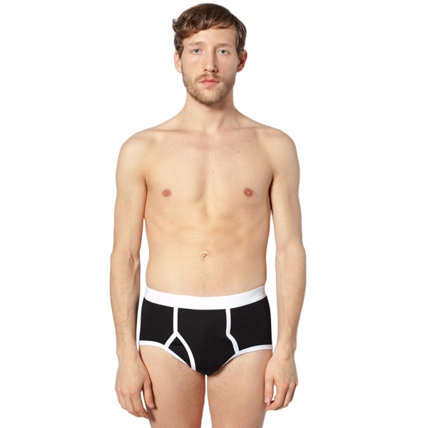 Unisex Baby Rib Brief. Blank Photo