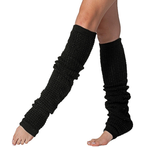 Long Leg Warmer. Blank Photo