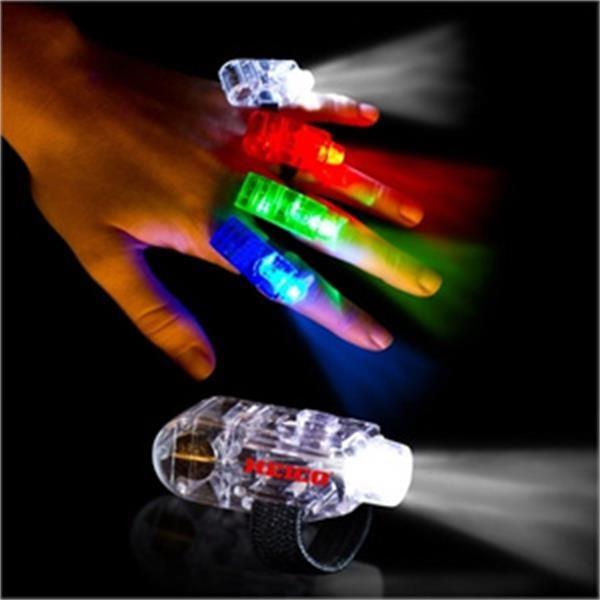 Finger Light - White - White LED - White Finger Light with White LED light.