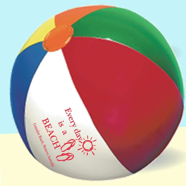 "9"" Diameter Beach Ball Photo"