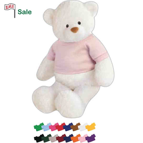 "Gund (r) - White Baby Bear, 13"" Photo"