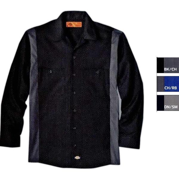 Industrial Color Block Short Sleeve Shirt