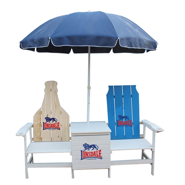 Adirondack Chair Combo - Set of Adirondack Chairs and umbrella.