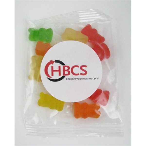 1oz. Gummy Bears Goody Bag