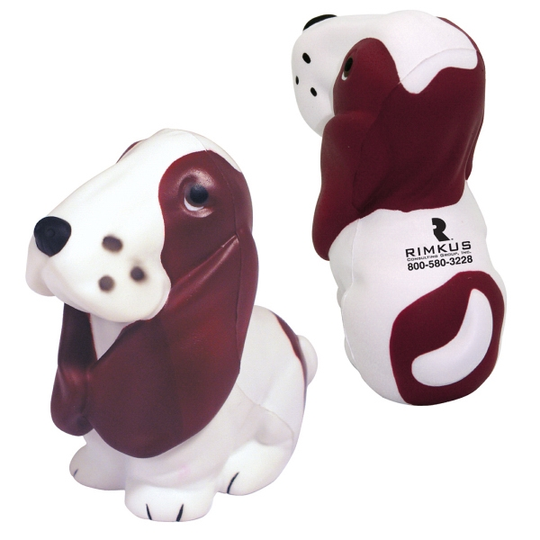 Squeezies (r) - Basset Hound Shaped Stress Reliever Photo