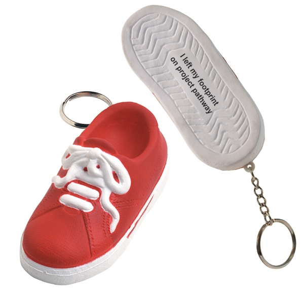 Squeezies (r) - Sneaker Shape Stress Reliever Key Holder Photo