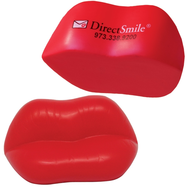 Squeezies (R) Lips Stress Reliever
