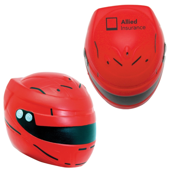 Squeezies (R) Motorcycle Helmet Stress Reliever