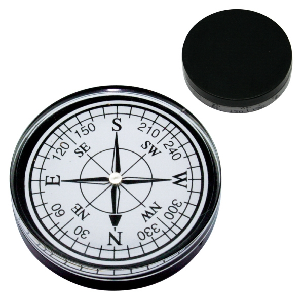 White - Large Compass In White Or Black Photo