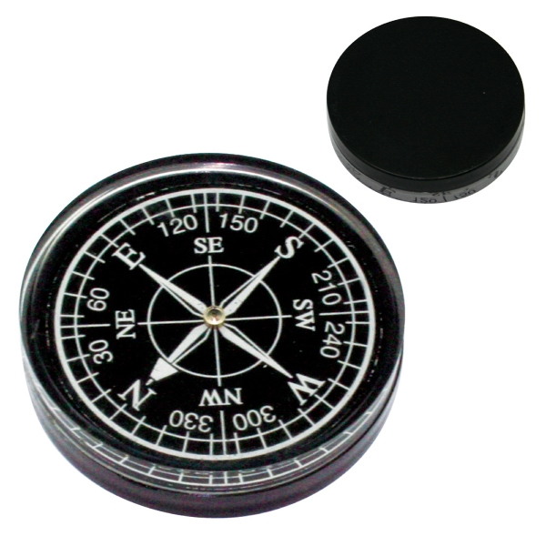 Black - Large Compass In White Or Black Photo