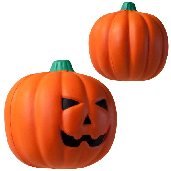 Squeezies (r) - Jack O'lantern Shape Stress Reliever Photo