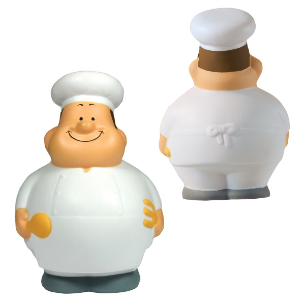Bert Squeezies (r) - Chef Shape Stress Reliever Photo