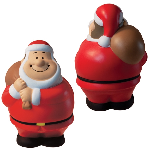 Bert Squeezies (r) - Santa Shaped Stress Reliever Photo
