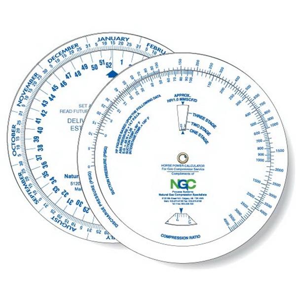Wheel Calculator Horsepower/ Gas Compression/ Date Finder