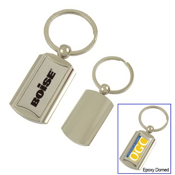 Art Deco Metal Key Tag