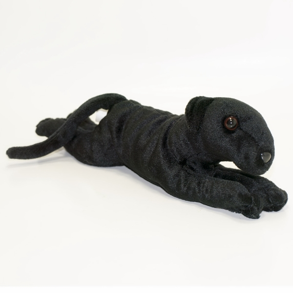 "10"" Greyhound Dog-Black"