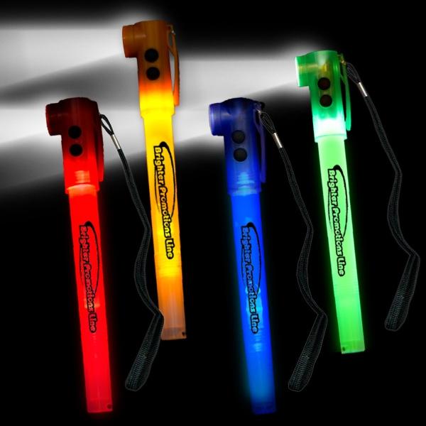 """8"""" Light-Up LED  Glow Safety Stix"""