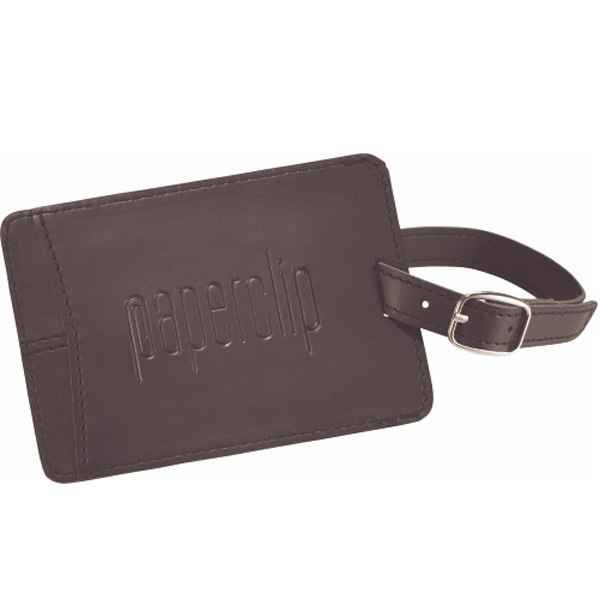 Pedova - Luggage Tag With Adjustable Metal Buckle Strap Photo