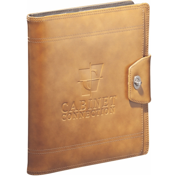 Cutter & Buck (r) - Genuine Saddle Grain Leather Ipad Notebook Photo