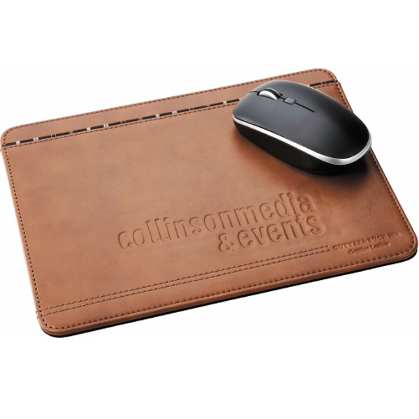 Cutter & Buck (r) - Leather Mouse Pad With Non-skid Base Photo