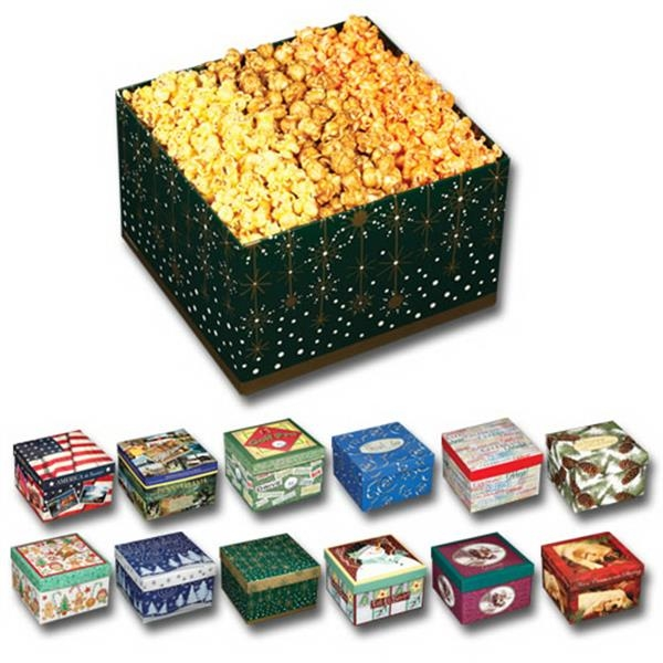 Utz(r) Snack On - Popcorn 3-way Gift Box With Butter, Caramel And Cheese Flavored Popcorn Photo